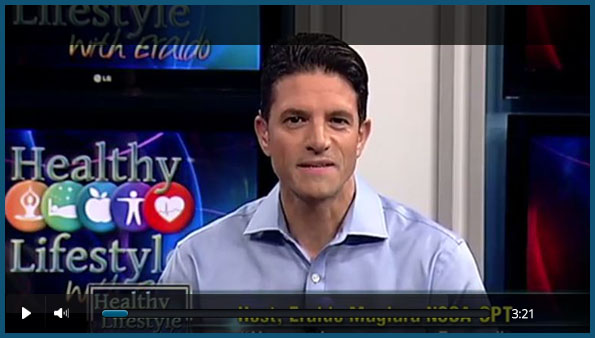 Watch Video: Dr. Dadvand Discusses Gynecomastia on Healthy Lifestyle WMCN with Host Eraldo